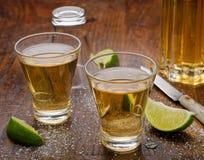 Colpi di tequila Fotografie Stock