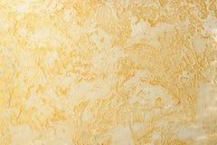 Colpi e diseguaglianza del gesso di sollievo della luce arancio Fotografia Stock