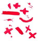 Colpi liquidi di colore di goccia della vernice Fotografia Stock Libera da Diritti