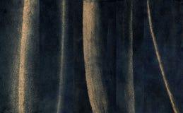 Colpi pastelli Linee fatte a mano raccolta di lerciume L'insieme del pennello marrone segna il fondo Fotografia Stock