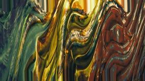 Colpi tinti acrilici della spazzola Tema astratto Pittura di lerciume su fondo Priorità bassa strutturata verniciata Il colore ha illustrazione vettoriale