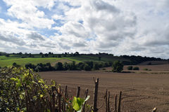 Colpo Alfreton del paesaggio in Derbyshire Immagini Stock Libere da Diritti
