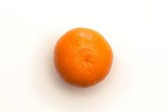 Colpo arancio da sopra Fotografia Stock Libera da Diritti