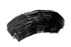 Colpo astratto della spazzola di lerciume isolato Fotografia Stock