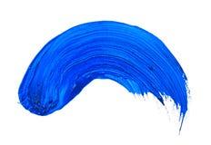 Colpo blu Fotografie Stock Libere da Diritti