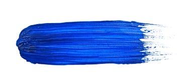 Colpo blu Fotografie Stock