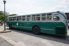 Colpo d'annata 3 del bus del museo di transito di New York Fotografie Stock