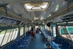 Colpo d'annata 10 del bus del museo di transito di New York Immagini Stock Libere da Diritti
