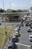 Colpo degli autisti di camion Immagini Stock Libere da Diritti