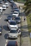 Colpo degli autisti di camion Fotografia Stock