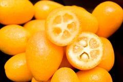 Colpo dei kumquat fotografia stock libera da diritti