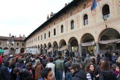 Colpo del banco in Italia Fotografie Stock Libere da Diritti
