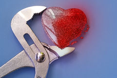 Colpo del cuore e problemi sanitari fotografie stock libere da diritti