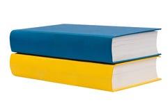 Colpo del primo piano della pila di libri Immagine Stock Libera da Diritti