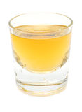 Colpo del whisky Fotografia Stock