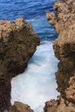 Colpo dell'acqua, DUA di Nusa, Bali Indonesia Fotografie Stock