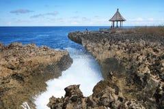 Colpo dell'acqua, DUA di Nusa, Bali Indonesia Immagine Stock Libera da Diritti