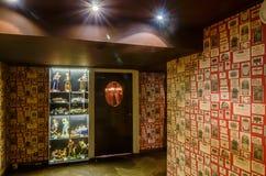 Colpo dell'interno del ristorante Fotografie Stock