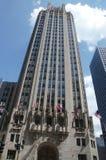 Colpo della città di Chicago Immagini Stock Libere da Diritti