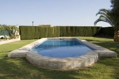 colpo della piscina Fotografia Stock