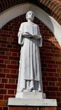 Colpo della statua di culto & della decorazione per un funerale immagine stock
