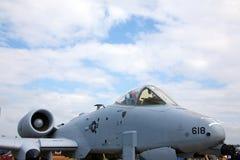 Colpo di fulmine A-10 Fotografia Stock Libera da Diritti