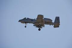 Colpo di fulmine A-10 Immagini Stock