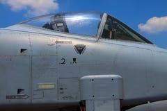 Colpo di fulmine A-10 Fotografia Stock