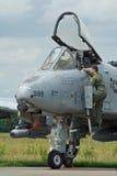 Colpo di fulmine di A-10A Fotografia Stock Libera da Diritti