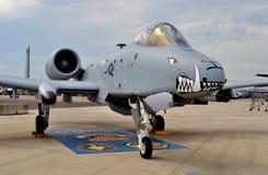 A-10 colpo di fulmine II/Warthog Immagine Stock