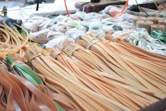 Colpo di imbracatura - strisce di gomma, Immagini Stock