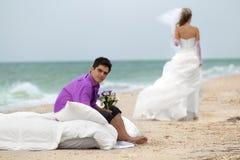 Colpo di nozze Immagini Stock