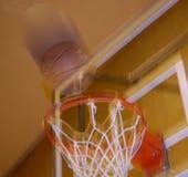 Colpo di pallacanestro Immagini Stock