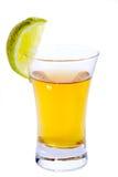 Colpo di Tequila Fotografia Stock Libera da Diritti
