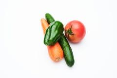 Colpo di verdure del gruppo Immagine Stock