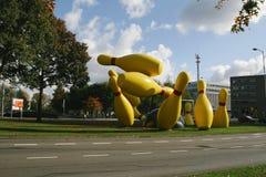 Colpo lanciante a Eindhoven Immagini Stock Libere da Diritti