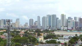 Colpo lontano di Brickell Miami archivi video