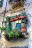 Colpo mediterraneo in HDR Fotografie Stock Libere da Diritti