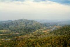 Colpo superiore del fiume di Lebed Fotografie Stock