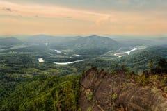 Colpo superiore del fiume di Lebed Fotografia Stock Libera da Diritti