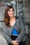 Colpo in testa del ritratto della donna di affari Immagine Stock Libera da Diritti