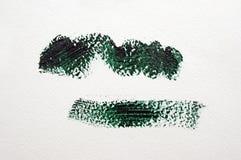 Colpo verde scuro Fotografie Stock