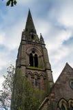 Colpo vicino della chiesa in Scozia Immagine Stock Libera da Diritti