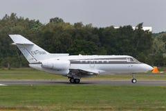 Colporteur Beechcraft de NetJets 750 avions d'avion d'affaires de CS-DUH photographie stock libre de droits