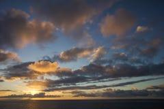 Colred-Wolken Lizenzfreies Stockbild