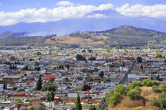 Colrful City of Puebla City, Mexico Royalty Free Stock Photography