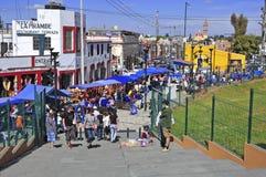 Colrful City of Puebla City, Mexico Royalty Free Stock Photo
