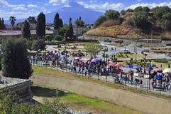 Colrful City of Puebla City, Mexico Royalty Free Stock Image