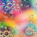 Colrful-Hintergrund mit Blasen Lizenzfreie Stockbilder