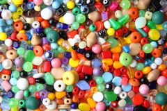Colro beads Royalty Free Stock Images